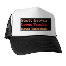 aascott brownd Trucker Hat