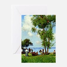 A Thousand Islands, St. Lawrence Riv Greeting Card