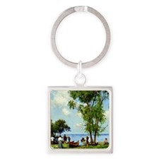 A Thousand Islands, St. Lawrence R Square Keychain
