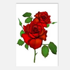 Rose Red Postcards (Package of 8)