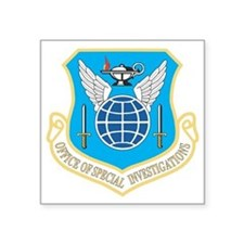 "AFOSI patch Square Sticker 3"" x 3"""