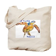 Sea Turtle Rescue Support Tote Bag