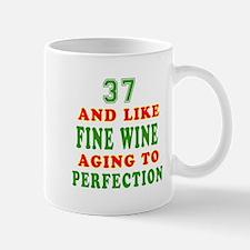 Funny 37 And Like Fine Wine Birthday Mug