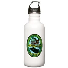 topeka patch transpare Water Bottle