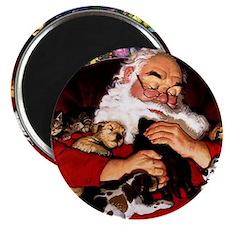 santa-claus-napping-christmas-wallpapers Magnet