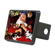 santa-claus-napping-christ Hitch Cover
