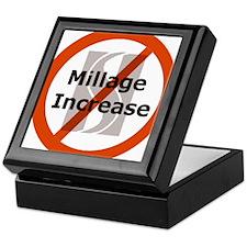 NoMillageIncrease-large Keepsake Box