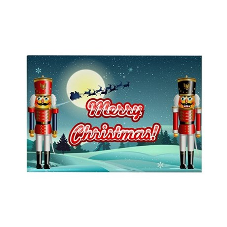 Nutcrackers Rectangle Magnet (10 pack)