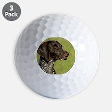 German Shorthaired Pointer 9P003D-022 Golf Ball
