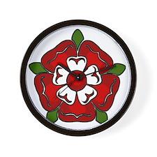 tudor rose for cafepress Wall Clock