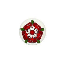 tudor rose for cafepress Mini Button