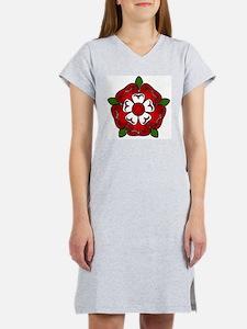 tudor rose for cafepress Women's Nightshirt