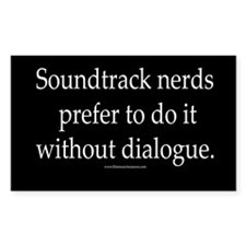 """""""Dialogue"""" Rectangle Decal"""