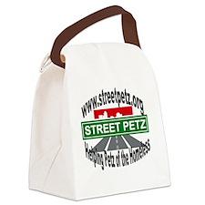 roundlogo Canvas Lunch Bag