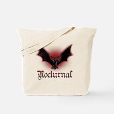 Bat_grey Tote Bag