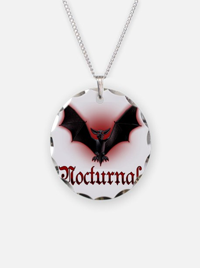 Bat_grey Necklace