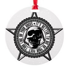 2-live_die Ornament