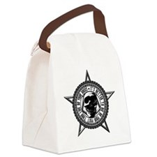 2-live_die Canvas Lunch Bag