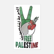 free pal Sticker (Rectangle)