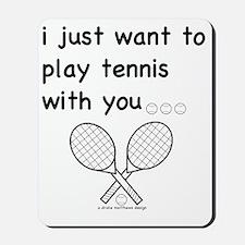 tennis_tr Mousepad