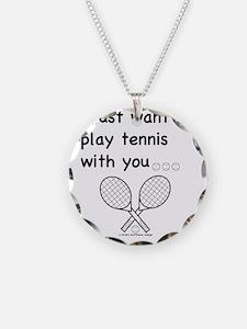 tennis_tr Necklace