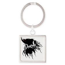 Dracula_Tshirt_Image Square Keychain