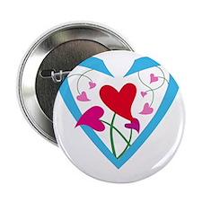 "hearts10x10 2.25"" Button"