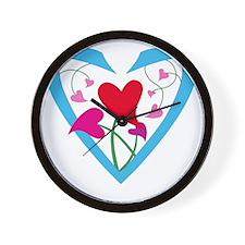 hearts10x10 Wall Clock