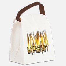 driveshaftflames Canvas Lunch Bag