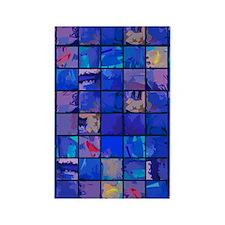 MosaicGlaquaBluFr441_iphone Rectangle Magnet