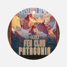 feb-club-patagonia Round Ornament
