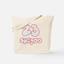 23 Skidoo Tote Bag