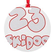 23 Skidoo Ornament