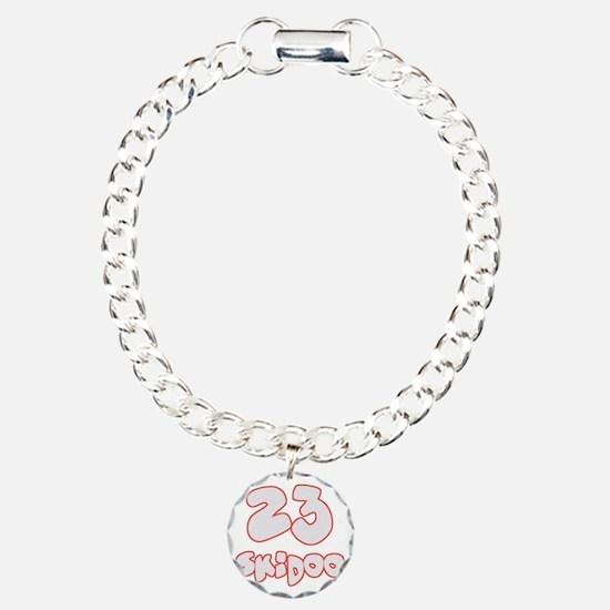 23 Skidoo Charm Bracelet, One Charm