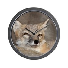 slyfox_mousepad Wall Clock