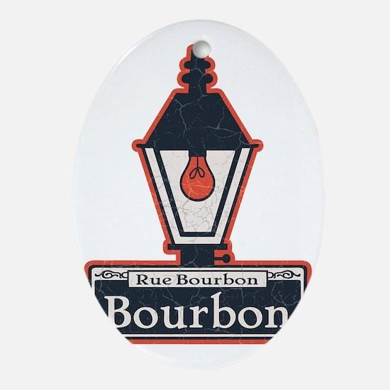 Bourbon-lamp-T Oval Ornament