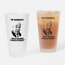ed rendell wussies Drinking Glass
