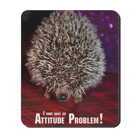 No Attitude Problem Mousepad