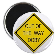 2-Out of the Way Doby Magnet