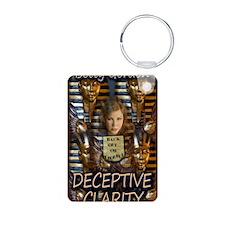 Deceptive Clarity 8x10 Keychains