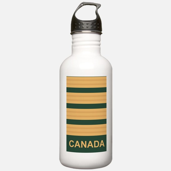 Canada-Army-Rank-Colon Water Bottle