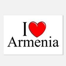 """""""I Love Armenia"""" Postcards (Package of 8)"""