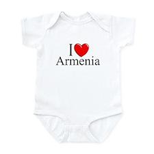 """""""I Love Armenia"""" Infant Bodysuit"""