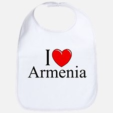 """I Love Armenia"" Bib"