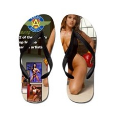 The_2011_Karate_Angels_Calendars Flip Flops