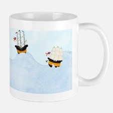 On the Rolling Sea 5 x 7 Mug
