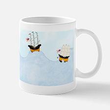 On the Rolling Sea 5 x 4 Mug
