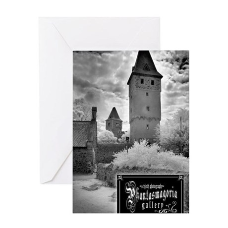 Frankenstien Castle Journal Greeting Card
