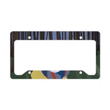 4.5 by 2.5 b License Plate Holder