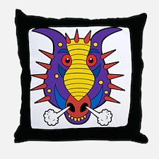 Maxs Dragon Shirt Throw Pillow